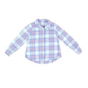 OSHKOSH FLANNEL, GIRL'S SIZE 6